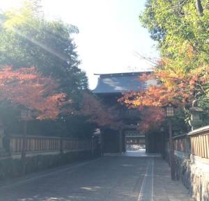 早朝の健軍神社
