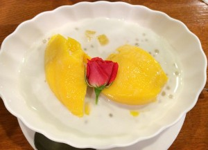 紅蘭亭の美味過ぎるマンゴープリン