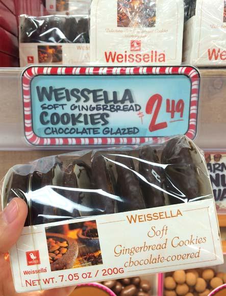 トレーダージョーズの季節限定お菓子(チョコクッキー)