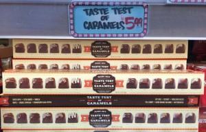 トレーダージョーズの季節限定お菓子(箱が特徴的な珍しいチョコセット)