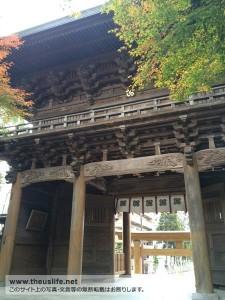 健軍神社の入口裏側から