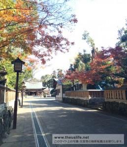 健軍神社の境内へ続く入口