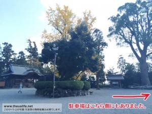 健軍神社の境内