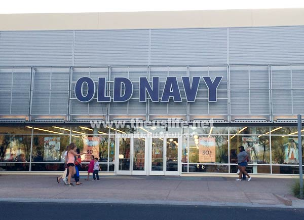 Old Navy 店舗外観(アメリカ)