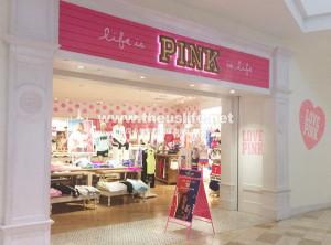 アメリカでお土産が買えるお店(PINK from Victria's Secret)