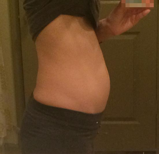 妊娠11週のお腹の大きさ