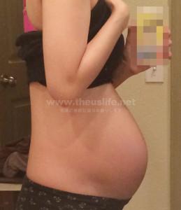 妊娠26週のお腹の大きさ
