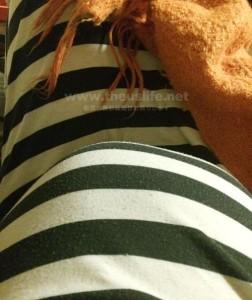 妊娠27週のお腹の大きさ