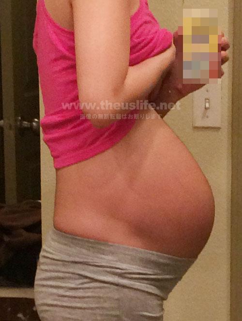 妊娠31週+5dのお腹の大きさ