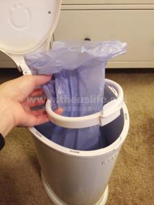 ウッビー(ubbi)ゴミ袋の入れ替え