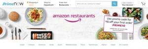 Amazon Restaurantで近くのレストランからデリバリーが可能に!