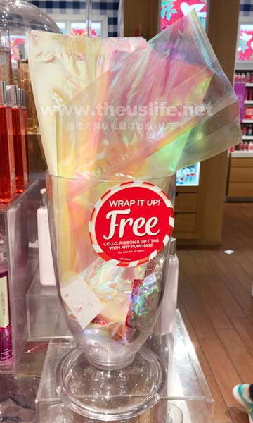 Bath and Body Works のギフトラッピング