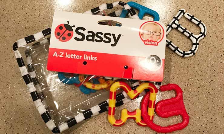 Sassy(サッシー)の人気おもちゃ レターリングス