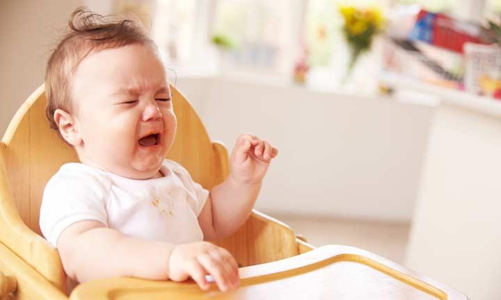 離乳食を食べない赤ちゃん