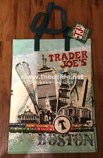 Traderjoes ボストンのエコバッグ