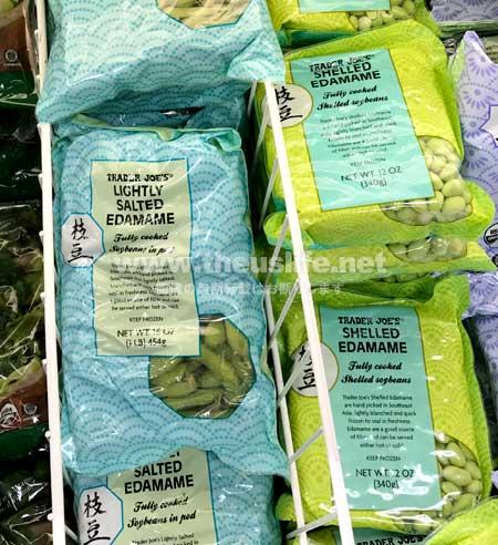トレーダージョーズの冷凍枝豆