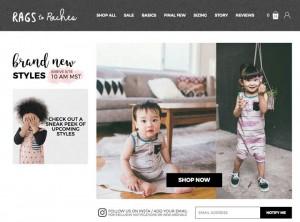 アメリカで人気のベビー&子ども服ブランド Rags to Raches