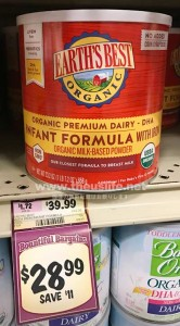 Earth's Best Baby Formula