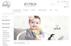 Hallmark Babyのウェブページキャプチャー