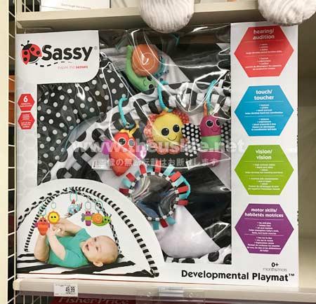 サッシー(Sassy)のプレイマット