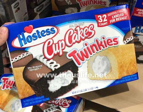 Hostess CupCakes Twinkies ホステスカップケーキ 32個入