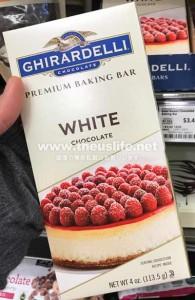 Ghirardelli(ギラデリ)プレミアムベーキングバーホワイトチョコレート