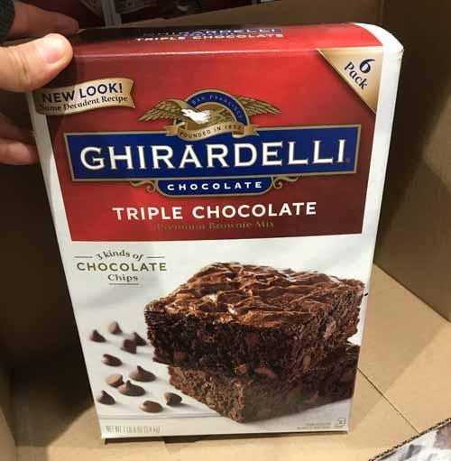 GHIRARDELLI(ギラデリ)のチョコレートブラウニーキット