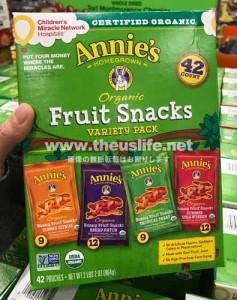 Annie's フルーツスナック
