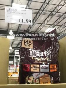 Hershey's(ハーシーズ)チョコ詰め合わせ 145個入