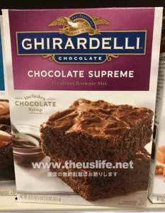 Ghirardelli(ギラデリ)のチョコレートシュプリームブラウニー作成セット