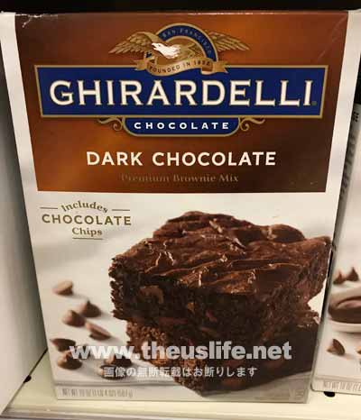 Ghirardelli(ギラデリ)のダークチョコレートブラウニー作成セット