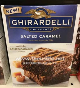 Ghirardelli(ギラデリ)の塩キャラメルのブラウニー作成セット