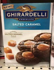 Ghirardelli(ギラデリ)の塩キャラメルクッキー作成セット