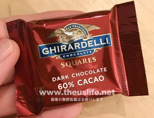 Ghirardelli(ギラデリ)60%カカオの中身