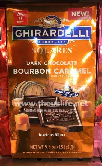 Ghirardelli(ギラデリ)バーボンキャラメル