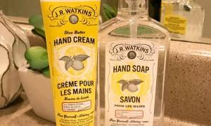 J.R. Watkins ハンドクリームとハンドソープ