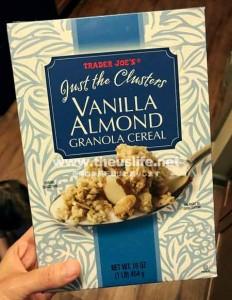 Traderjoes Vanilla Almond Cereal(トレジョのバニラアーモンドシリアル)