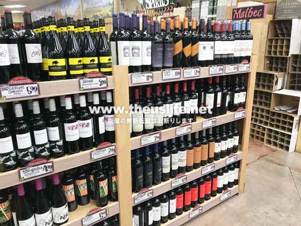 traderjoes ワイン売り場