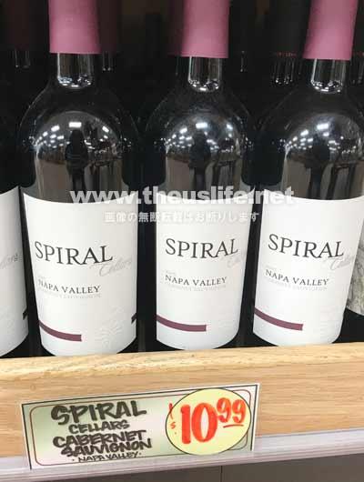 Traderjoes おすすめワイン Spiral(スパイラル)