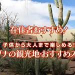 アリゾナ在住者のおすすめ観光地と観光スポット