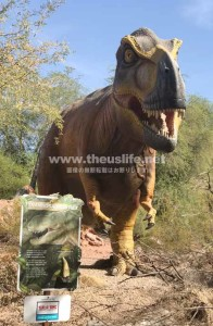 Phoenix Zoo の期間限定イベント Dinosaurs in the Desert