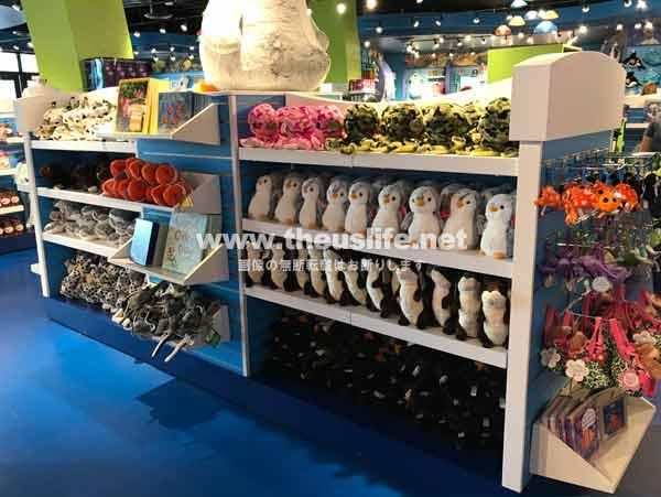 OdySea Aquariumのお土産売り場