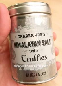 trader joes ヒマラヤントリュフソルト