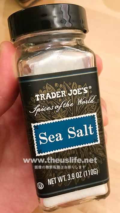 trader joes シーソルト