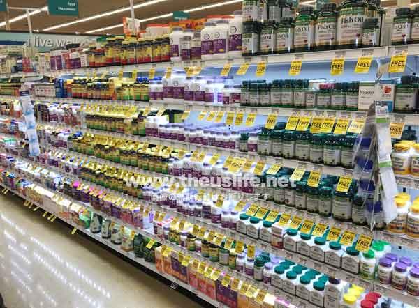 アメリカのスーパーで買えるサプリメント