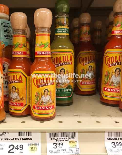Cholulaのホットソース ミニサイズ