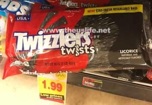 Twizzlers(トゥウィズラーズ)黒