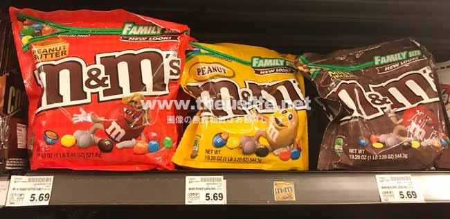 m&m's チョコレート