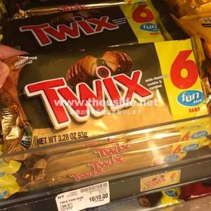 アメリカのチョコレートTwix