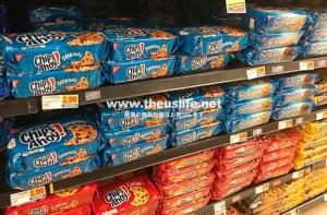 アメリカのスーパーに並ぶチップスアホイ